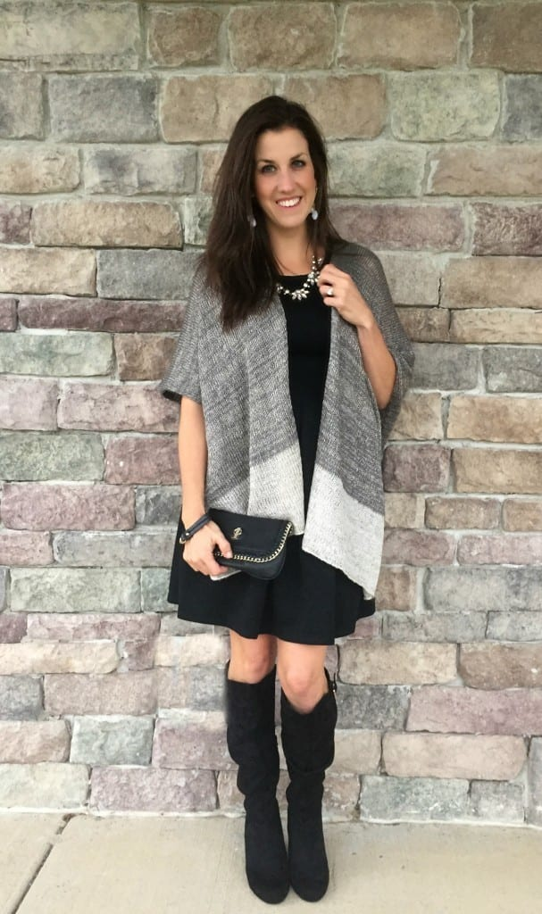 Dressy Christmas outfit - If you go a little dressier on Christmas, these outfit ideas are perfect.