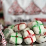 Peppermint Kisses Present Bites