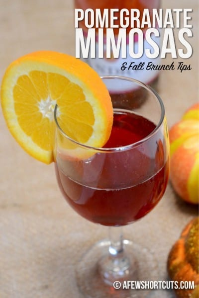 Pomegranate-Mimosas