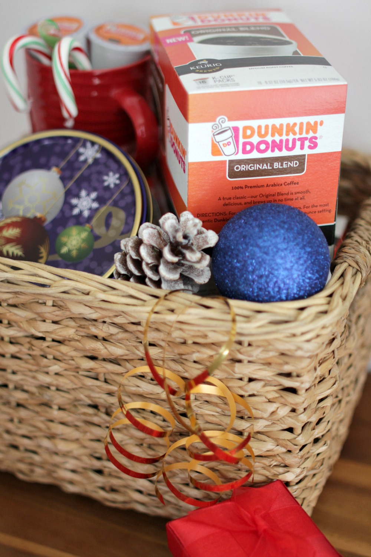 coffee mug gift basket ideas - coffee drinker