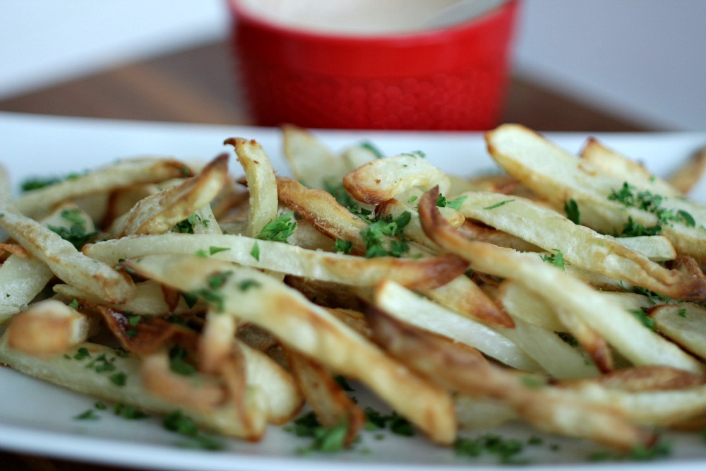 how to make fresh cut french fries