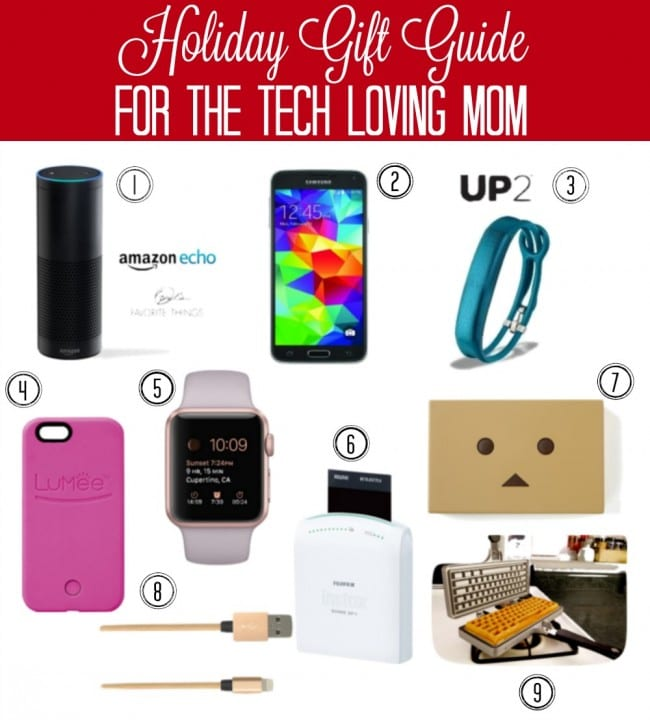holiday gift guide for the tech loving mom