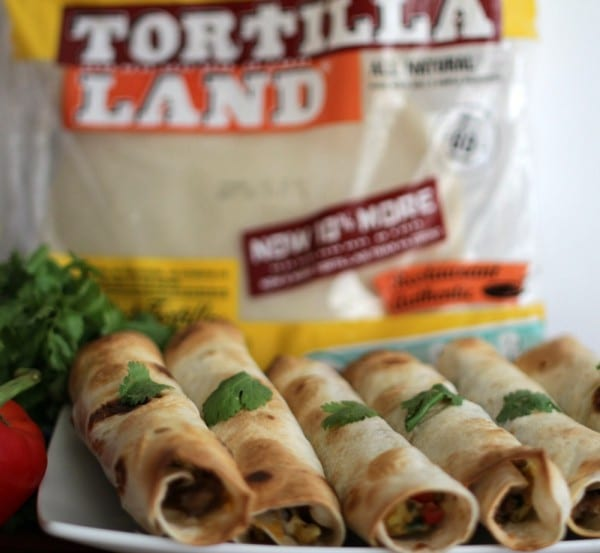 Texas Size Mexican Breakfast Taquitos are filling, full of flavor and the perfect idea for breakfast, brunch, lunch or dinner. Once you serve these, you family and friends will ask for more! (Mine did.)