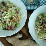 Easy & Quick Dinner Idea: Rice Noodles with Vegetables