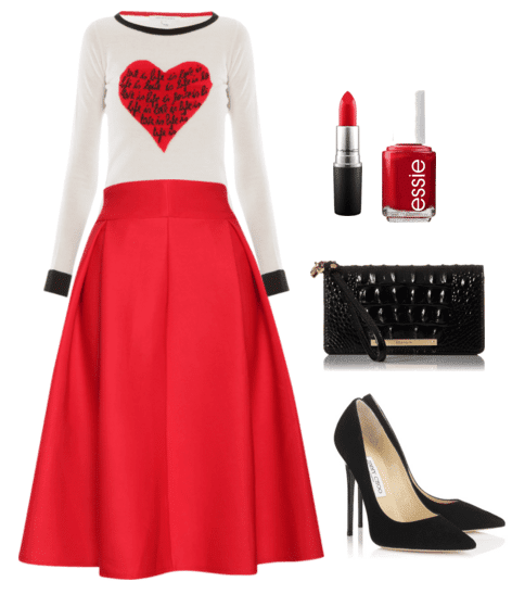 Cute Outfit Ideas Of The Week #63 - Valentineu0026#39;s Day Outfit Ideas | Mom Fabulous