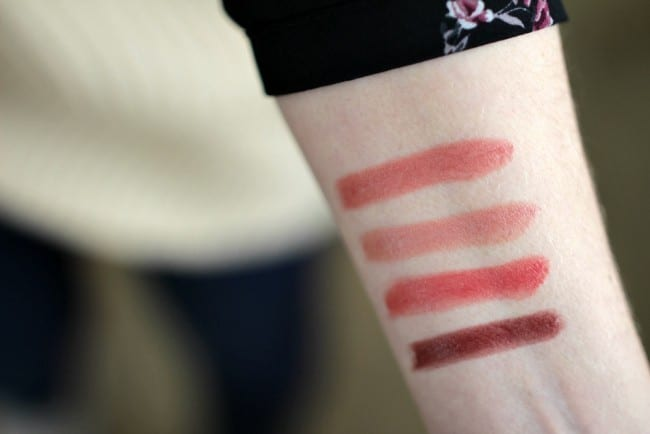 Burt's Bees lipstick colors - a lipstick that loves you back. These lipsticks hydrate and moisture your lips for 8 hours, come in 14 gorgeous shades and are made with ingredients you can actually pronounce!