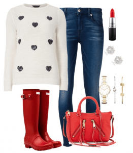Cute Outfit Ideas of the Week #65 – Casual Valentine's Day Outfits