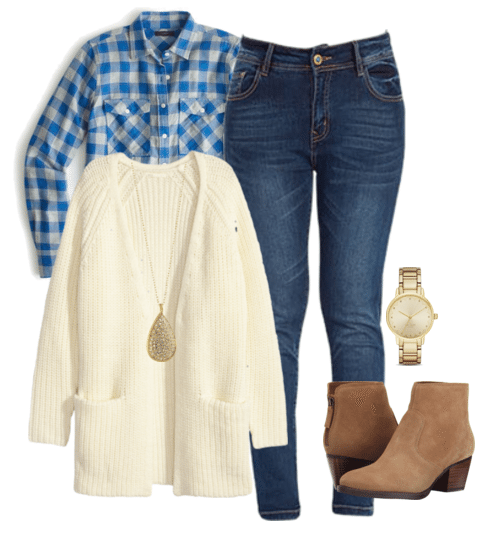 Cute outfit ideas of the week - this week's feature is all about the long cardigan outfit. A long cardigan is versatile, comfortable and looks perfect with jeans and your favorite shoes.