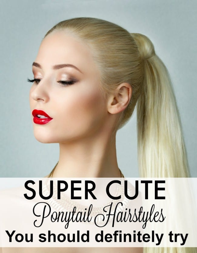 These super cute ponytail hairstyles are easy and perfect for the gym to a night out.