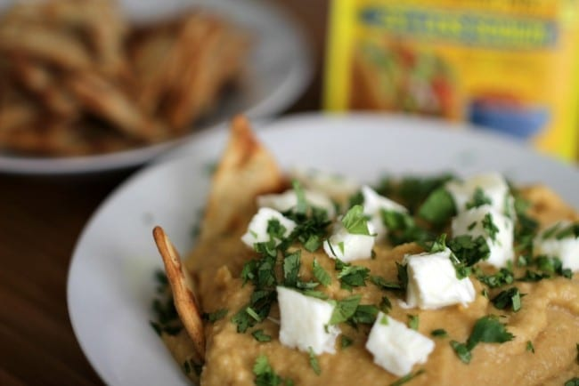 This taco hummus recipe i s easy, tasty and requires ingredients easily found in your local grocery store. With ingredients like fresh garlic and olive oil, you know it's got to be good!