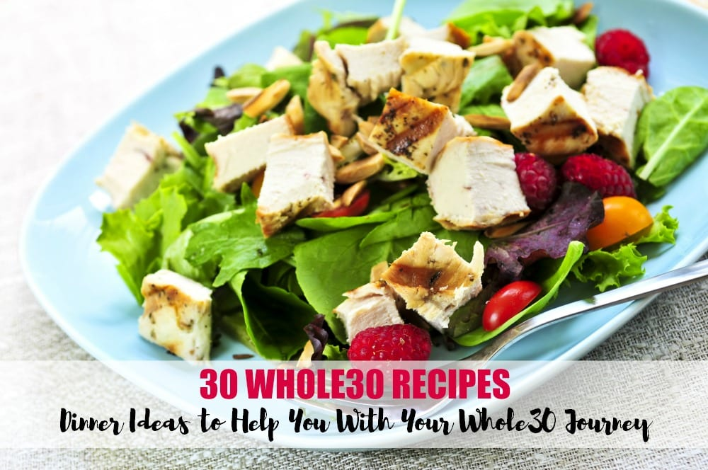 Are you about to embark on The Whole30 adventure? Or maybe you're doing it again? The secret to success is in planning. These 30 Whole 30 Recipes will help! My favorites are the crock pot recipes. Easy peasy.