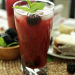 A Better for You Tea: Blackberry Mint Iced Tea