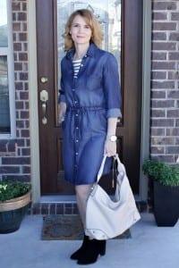 One Denim Dress: Three Ways To Wear It
