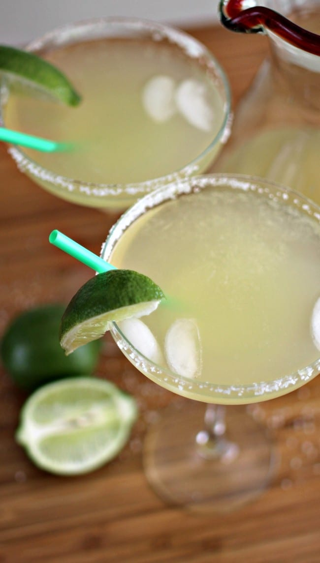This easy Margarita recipe requires only 4 ingredients and 12 ounces each. We're calling it the 4x12 Margarita! Whether you're celebrating National Margarita Day, Cinco de Mayo or just want a quick and easy Margarita, you will love how easy this is and how absolutely amazing it tastes.
