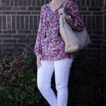 Two Floral Shirt Outfits: Casual and Dressy