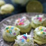 Key Lime Coconut Cake Mix Cookies