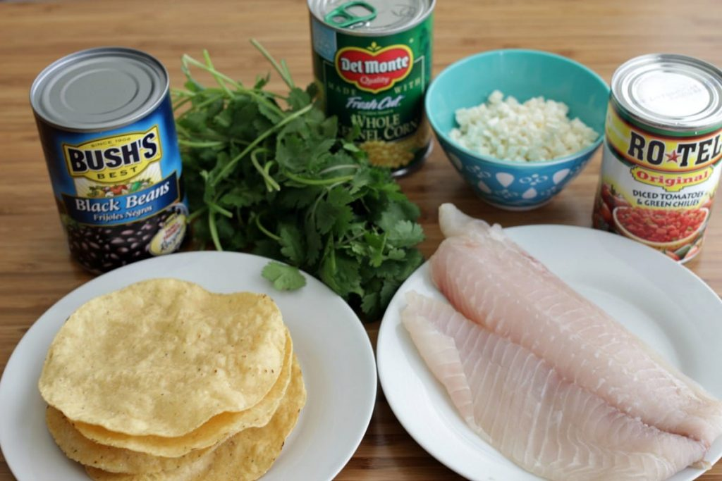 This Ten Minute Tilapia Tostada is quick, easy and full of flavor. Not to mention it makes for one good looking meal!