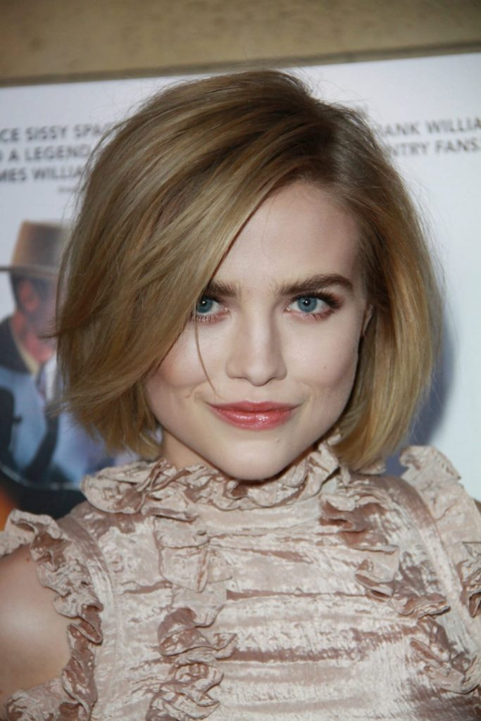 Best Hairstyles of the week - Maddie Hasson sporting a super cute bob haircut.