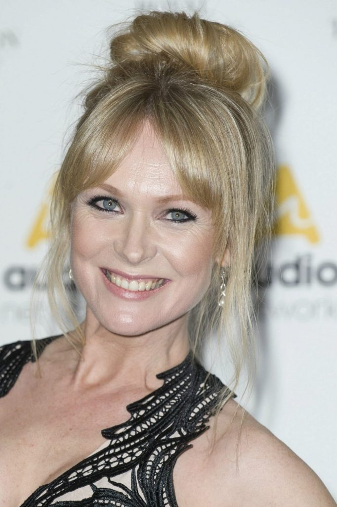 Best hair styles of the week - Michelle Hardwick rocking a super cute bun.