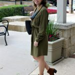 Spring Fashion: The Perfect Olive Dress Outfit