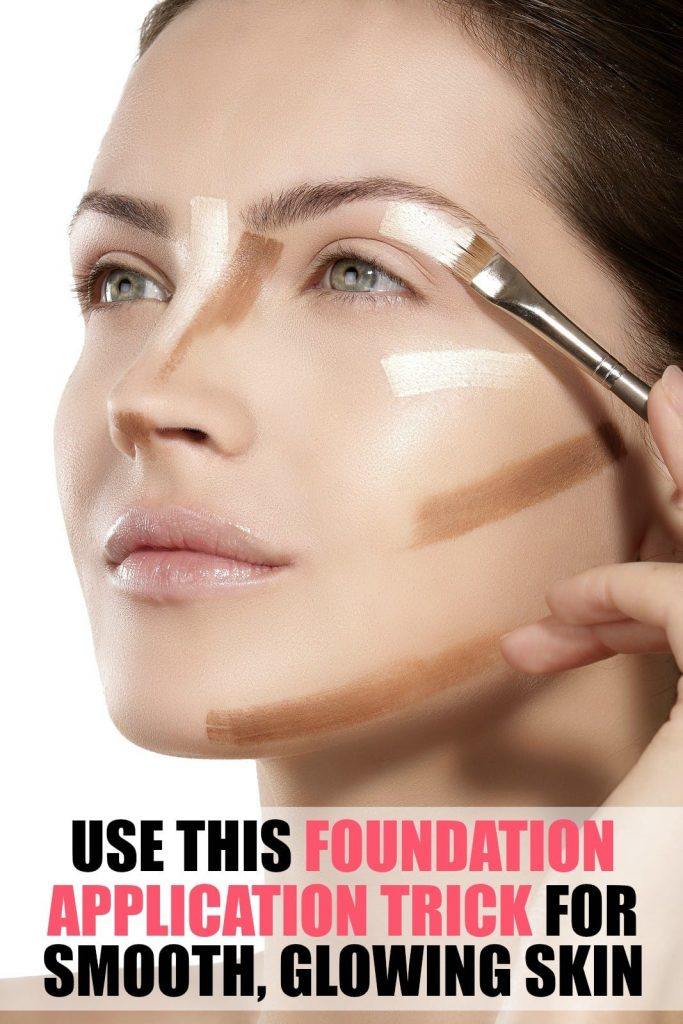 This is the best foundation application trick I have yet to discover. It gives me the smooth, flawless, glowing skin I've been wanting. It's not really what you use, but the order you use it in!