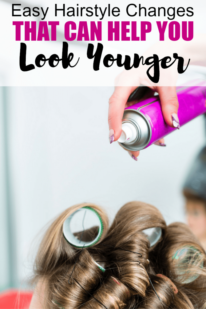 Easy Hairstyle Changes That Can Help You Look - Did you know they way you style your hair can add or take away years. Here are a few simple tips for your hair that can help you look your age, or heck, even younger!