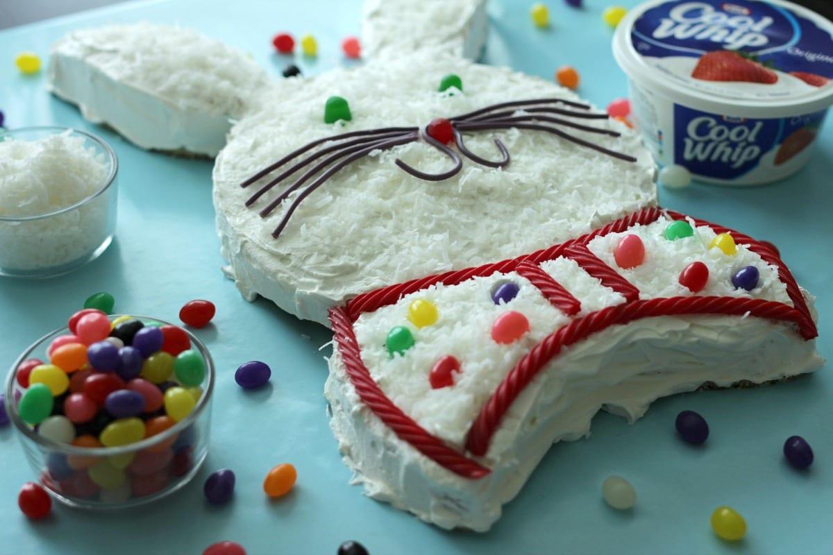 Kraft Easter bunny cake