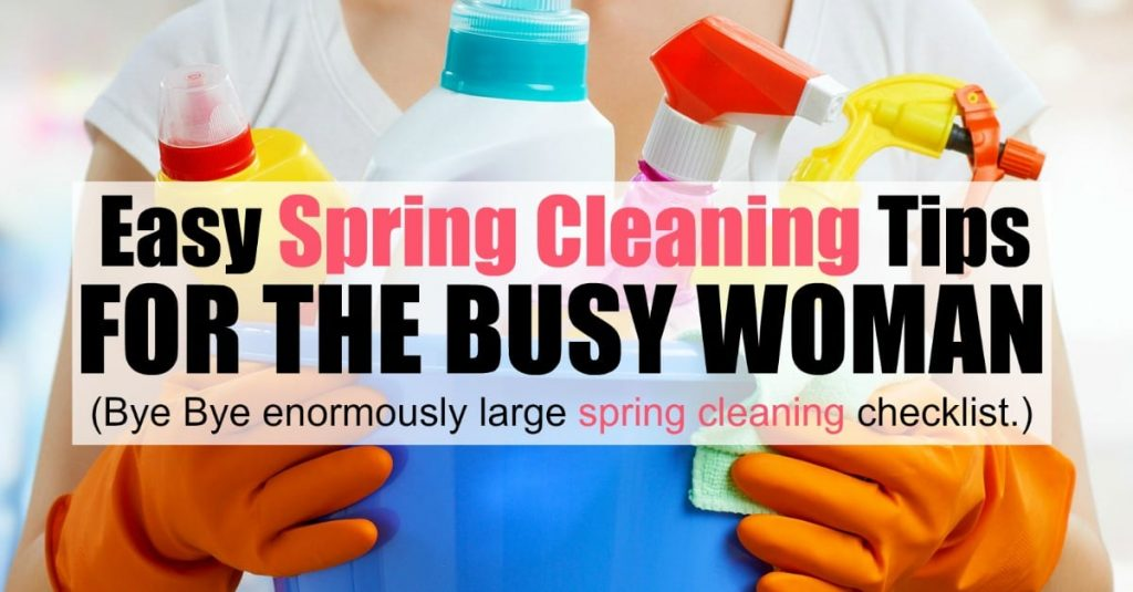 Easy Spring Cleaning Tips For The Busy Woman Mom Fabulous