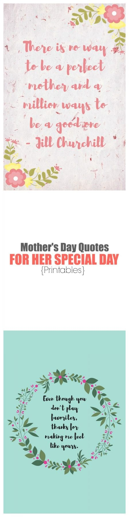 5 mothers day quotes for her special day printables print out these mothers day quotes to frame or put it in a card for her thecheapjerseys Choice Image