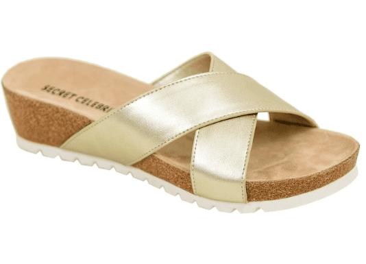 Secret Celebrity Cookie Crumbles Sandal