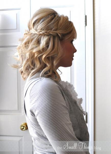 Easy Braided Updos For Shoulder Length Hair : 25 braided hairstyles for your easy going summer