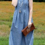 chambray maxi dress outfit-02