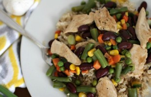 Quick & Healthy Dinner Idea: Chicken and Bean Skillet