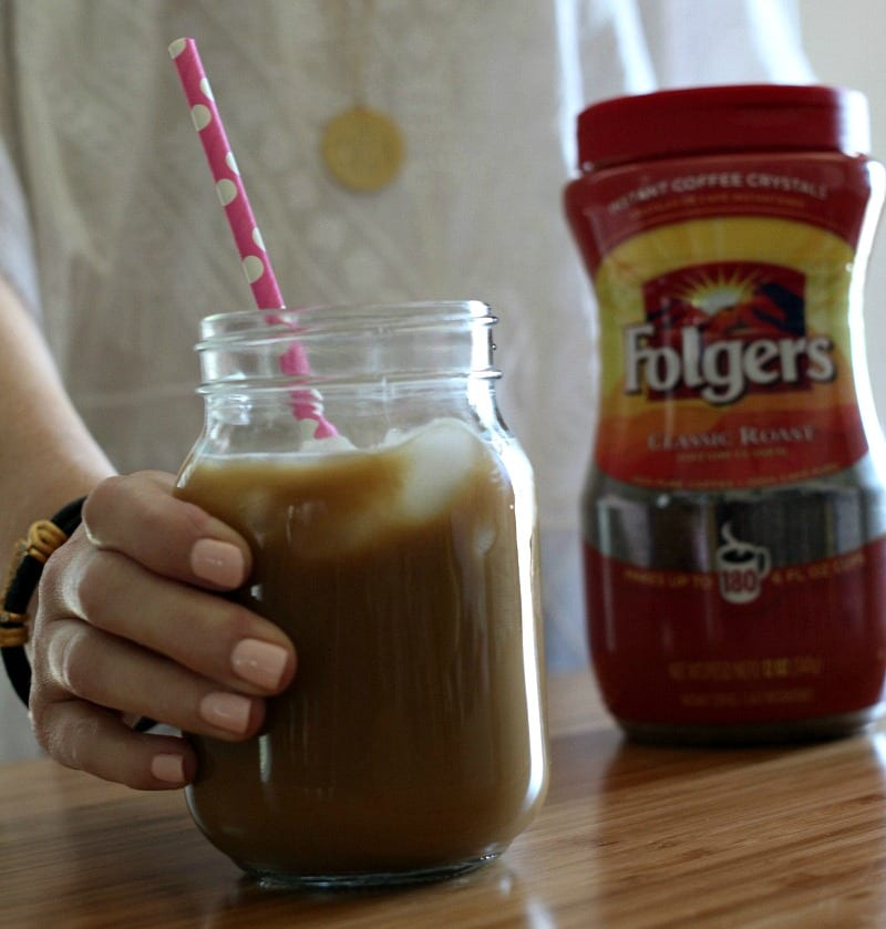 With just a few ingredients and a little time, you can whip up your own iced coffee at home for a fraction of the cost. Plus, add as little or as much ice as you want. (And no one gets sued...)