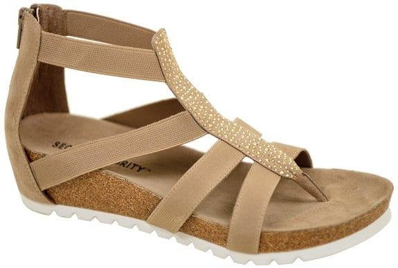 secret celebrity gladiator sandals