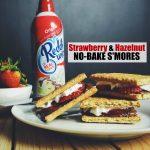 Strawberry and Hazelnut No-Bake S'mores
