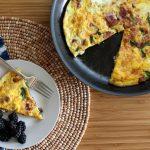 Bacon and Spinach Frittata Recipe