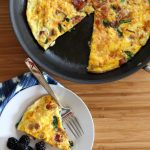 Bacon and Spinach Frittata Recipe