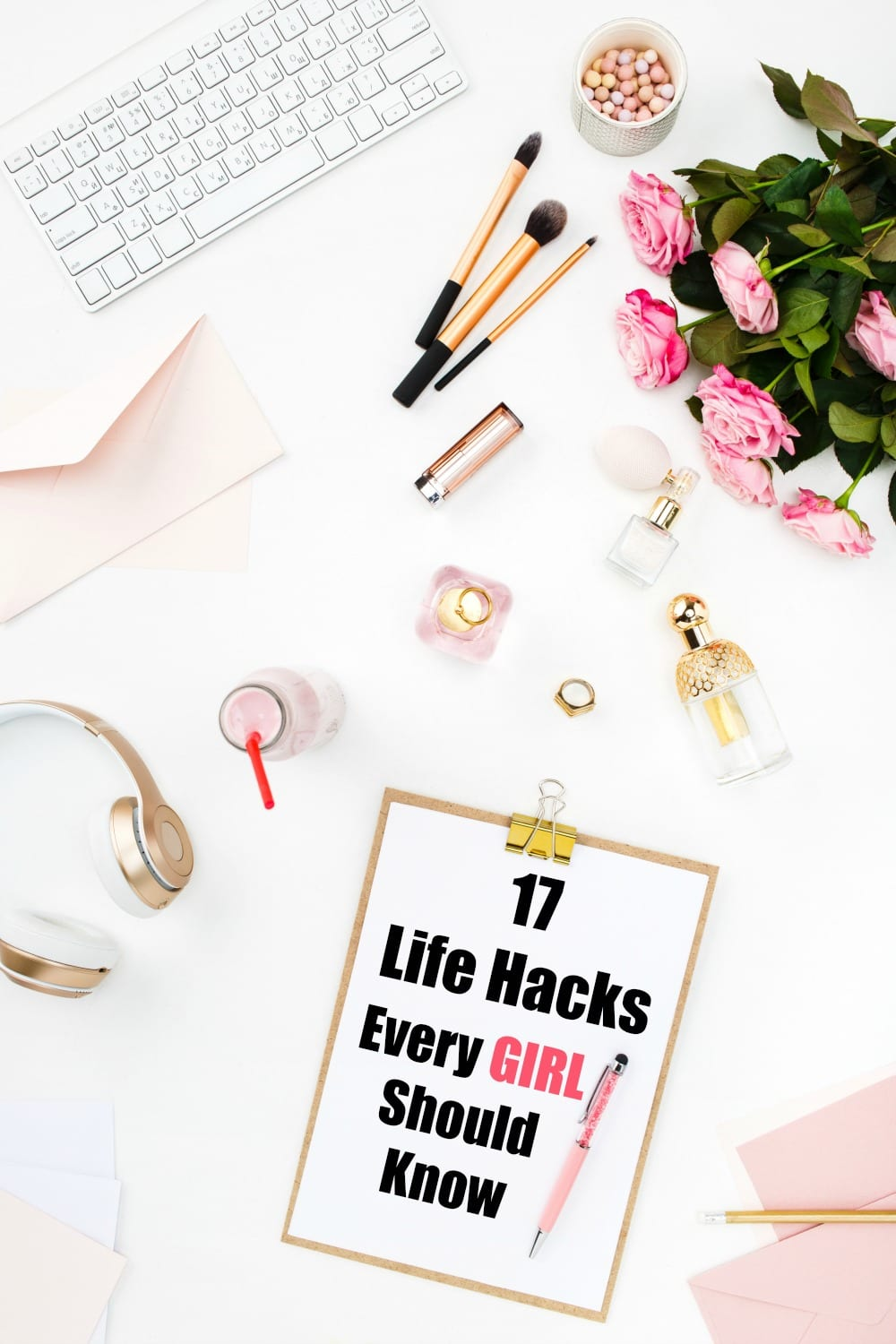 These 17 Life Hacks Every Girl Should Know are ingenious! From beauty tips and hair tricks, to organization ideas for your home, you'll find something here to make life just a tad easier. I carry #1 in my purse!