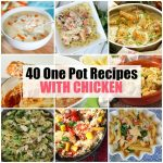 One Pot Recipes with Chicken 101