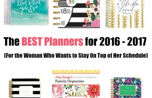 The Best Planners for the Woman Who Wants to Stay On Top of Her Schedule