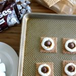 Simple Oven S'mores with HERSHEY'S KISSES