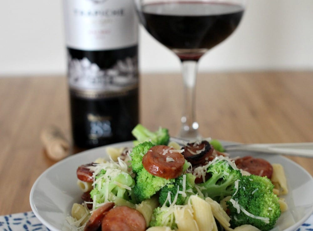 Looking for smoked sausage recipes for an easy and quick summer meal? I have just the one for you: Smoked Sausage, Broccoli and Pasta. With low prep, little time in the kitchen and a dish bursting with flavor, you'll have more time to savor your summer. This meal only requires one skillet and one pot to cook the pasta and broccoli in, so that means less dishes for clean-up.