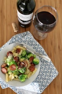 Smoked Sausage, Broccoli and Pasta Recipe