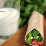A Simple & Flavorful Snack Idea – The Veggie Wrap