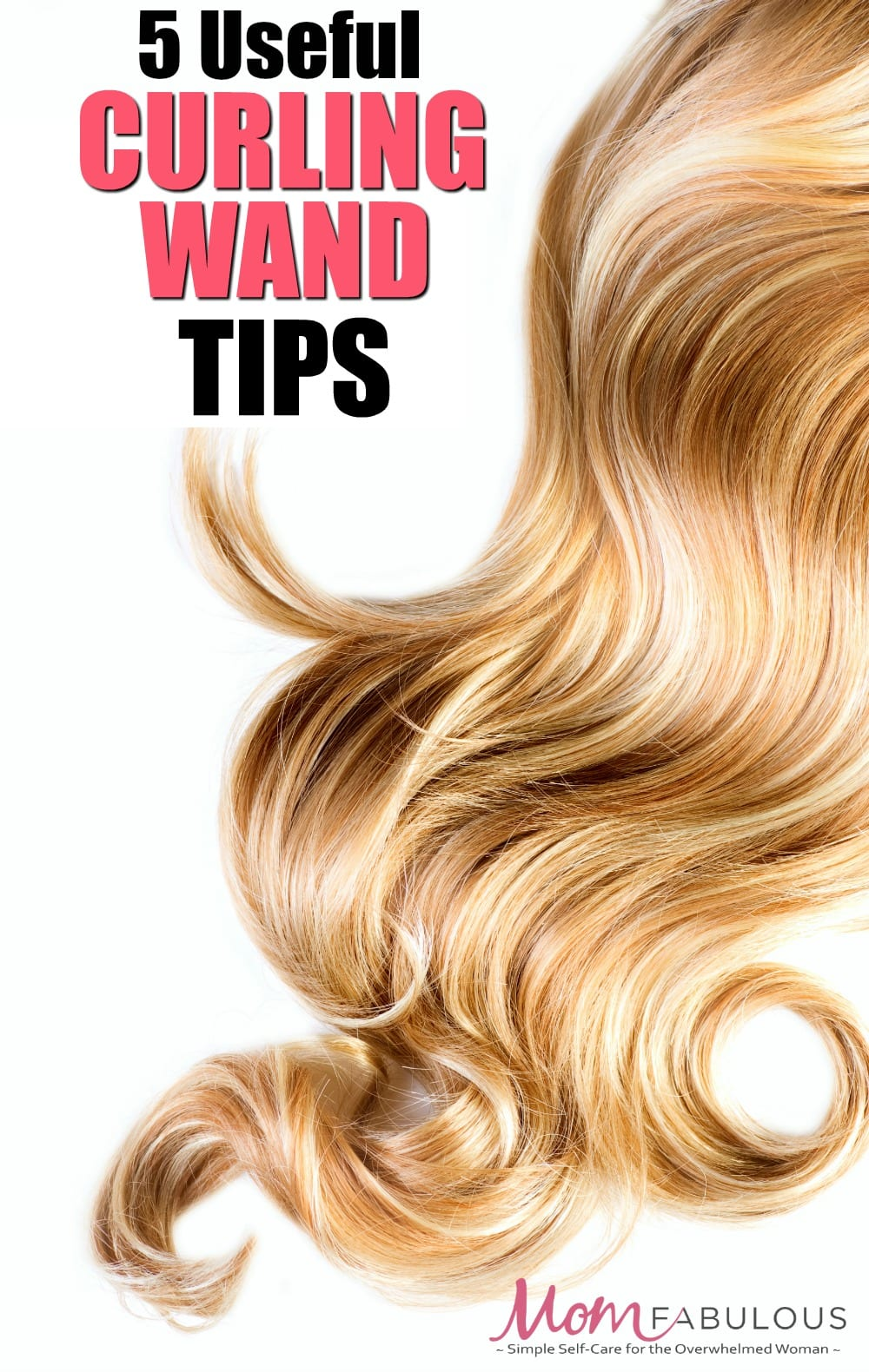 These five curling wand tips will help give you long lasting, healthy and beautiful curls using your curling wand.