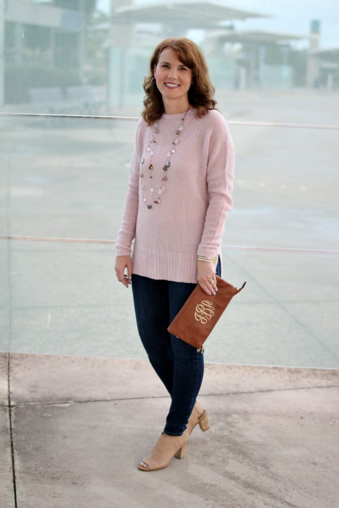 Cashmere sweater outfit 01