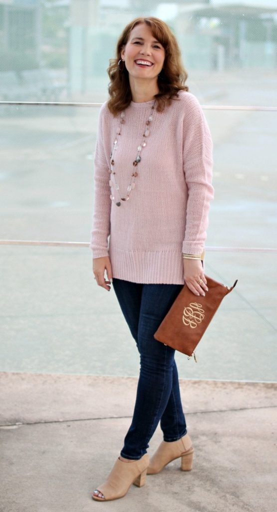 Cashmere sweater outfit 03