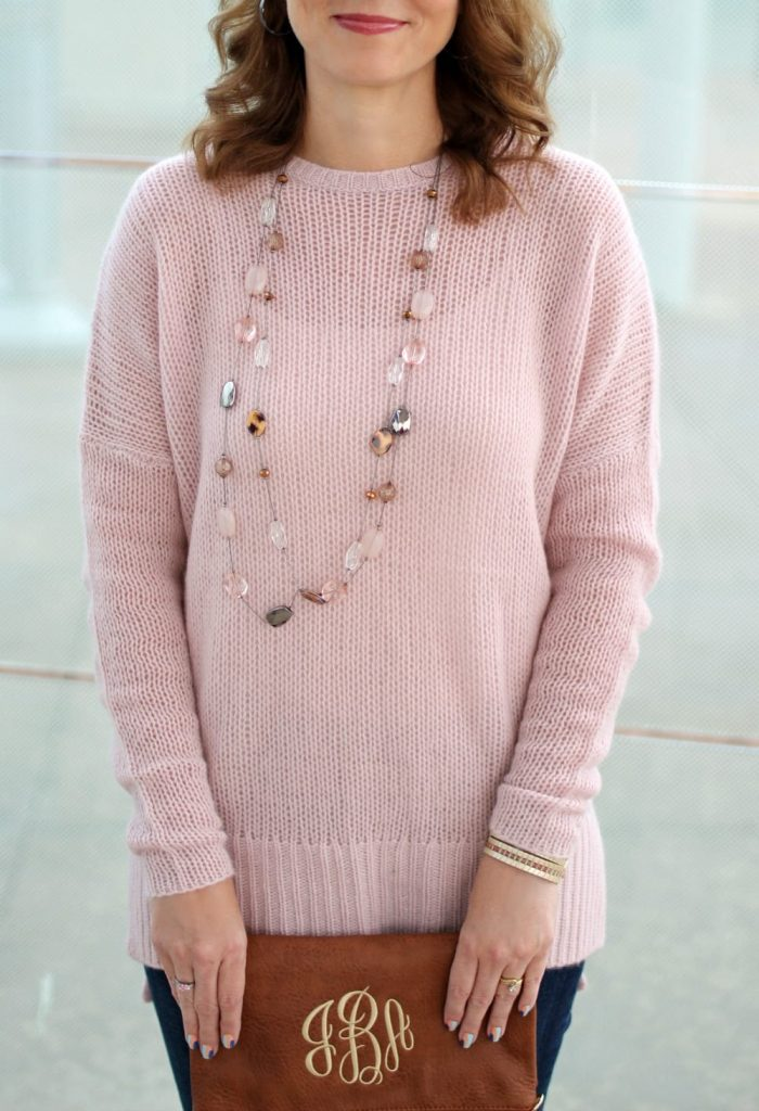 Cashmere sweater outfit 04