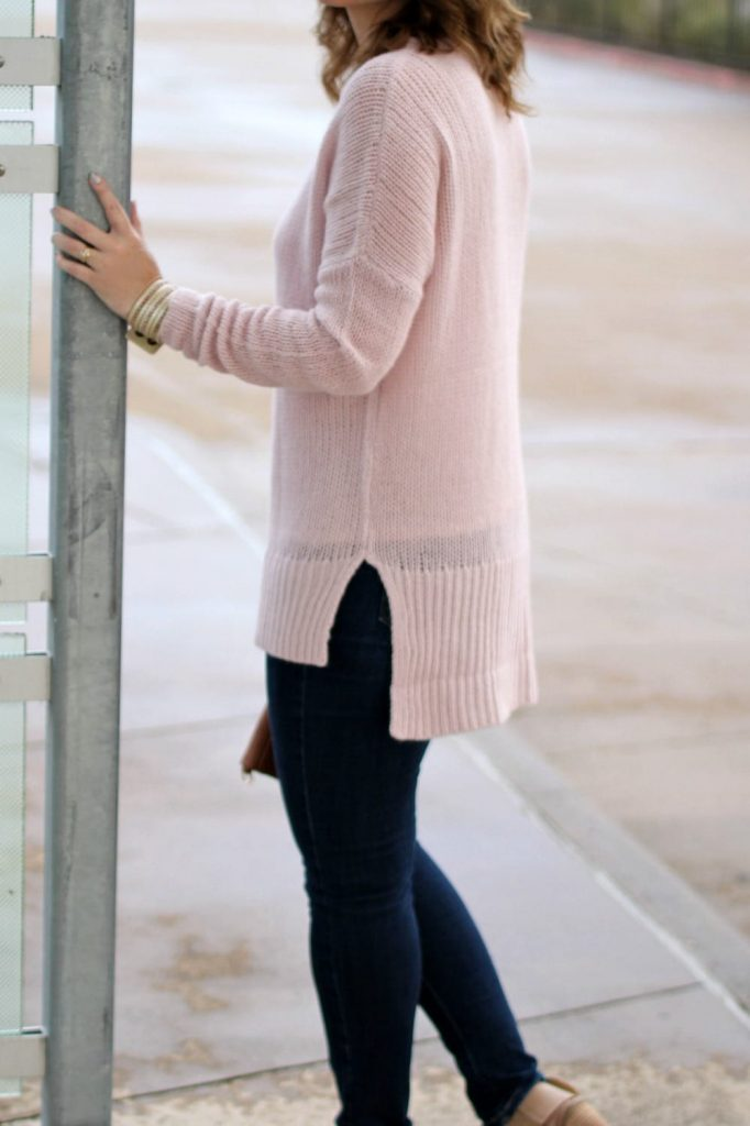 Cashmere sweater outfit 08